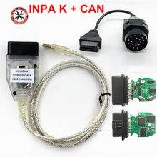 Kabel pomiarowy do BMW, vstm, INPA, K+CAN, z FT232RL, Chip ze Switchem, K DCAN, USB, interfejs, przewód diagnostyczny 20 pinowy, 2018