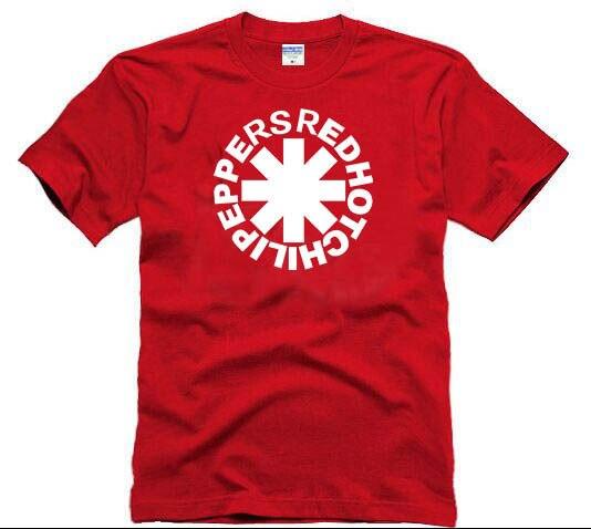 Банка рок Camisetas Мужчины Одежда Red Hot Chili Peppers хип-Надежда стиль Лето Майка Мужчины Red Hot Chili Peppers повседневная