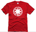 Rock Bank Camisetas Men Clothes The Red Hot Chili Peppers Hip-Hope style Summer T Shirt Men Red Hot Chili Peppers Casual