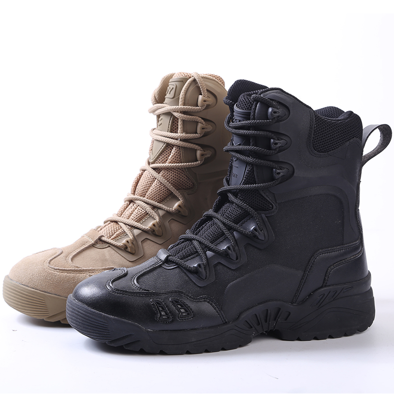 ESDY Outdoor sport shoes climbing men's Combat Desert Military Tactical breathable high assault boots non-slip hiking Sneakers military camouflage boots desert tactical hiking shoes non slip breathable boots outdoor climbing camping sneakers