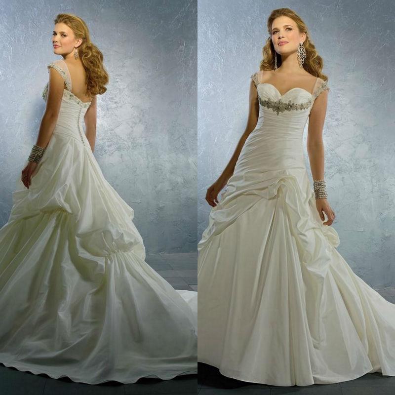 Plus Size Wedding Gown Patterns: Discount Modest Bridal Gown Pattern Wedding Dress Designer