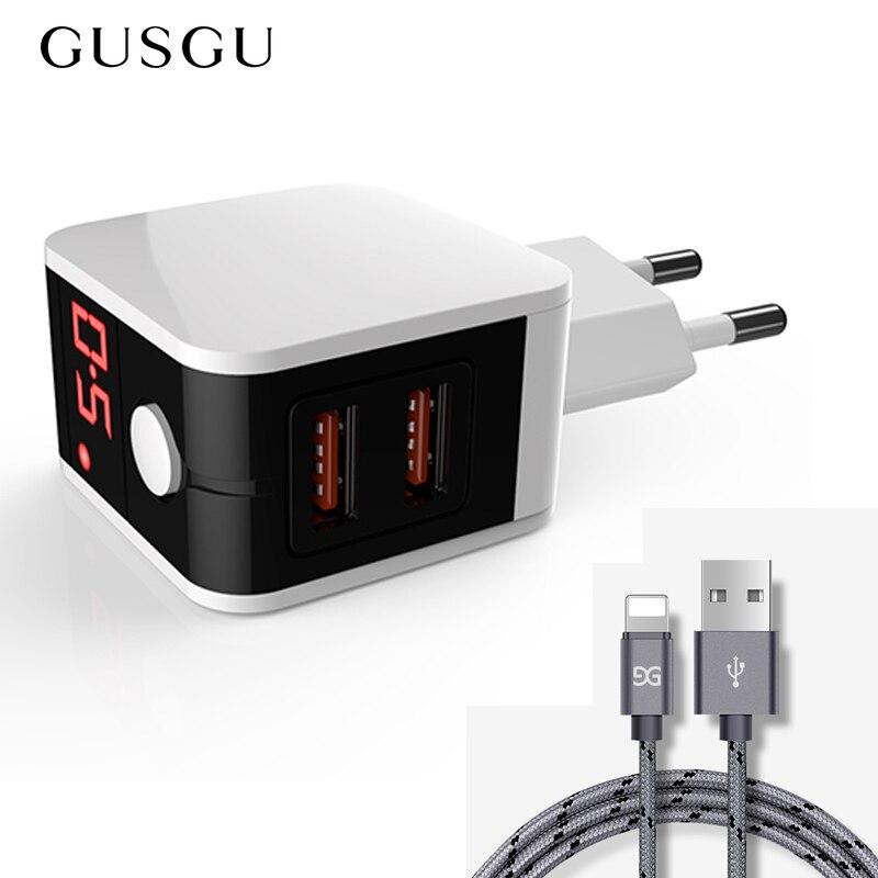 Зарядное устройство для iPhone 7 Plus X XS Max 8 6 S 5 5S iPad с usb кабелем для синхронизации данных|Кабели для мобильных телефонов|   | АлиЭкспресс