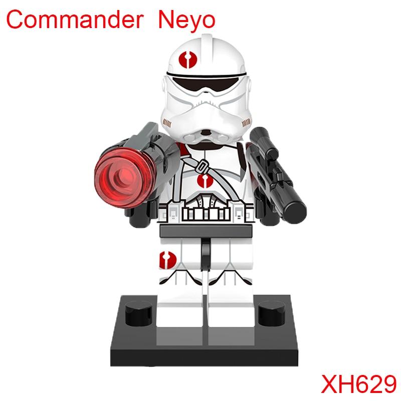 Commander Neyo Trooper Star Wars Building Block Single Sale 91St Reconnaissance Corps Mini Toy Figures Gift For Children Xh629