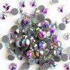 YANRUO 2058HF Clear AB Rhinestone Hot fix Strass Hotfix Stones And Crystals Rhinestone for Clothing