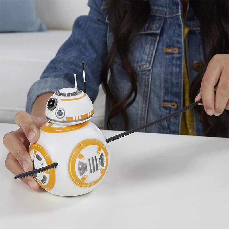 Оригинальные Звездные войны Rip N Go BB-8 S1 герой робот кино звуки фигурку коллекция кукла игрушка в подарок для мальчиков