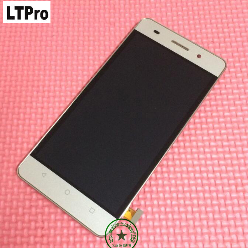 LTPro High Quality Test Glass <font><b>Panel</b></font> <font><b>LCD</b></font> Display <font><b>Touch</b></font> Screen Digitizer Assembly with frame <font><b>For</b></font> <font><b>HUAWEI</b></font> <font><b>Honor</b></font> <font><b>4C</b></font> Black/White/Gold image