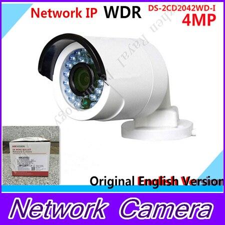 POE 4MP IP camera 1080P 3MP HD HIK DS-2CD2042WD-I replace DS-2CD2035-I DS-2CD2032-I DS-2CD2032F-I ds-2cd2032 2CD2032 vision newest hik ds 2cd3345 i 1080p full hd 4mp multi language cctv camera poe ipc onvif ip camera replace ds 2cd2432wd i ds 2cd2345 i