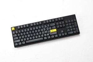 Image 4 - مجموعة أغطية مفاتيح صبغات صغيرة مطلية بالكرز بلاستيك PBT سميك أسود أصفر للرجال من أجل gh60 xd64 xd84 xd96 tada68 87 104 razer corsair