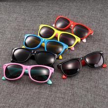 Longkeader, Новые поляризованные детские солнцезащитные очки для мальчиков и девочек, модные солнцезащитные очки для младенцев, детские солнцезащитные очки, Gafas Infantil UV400