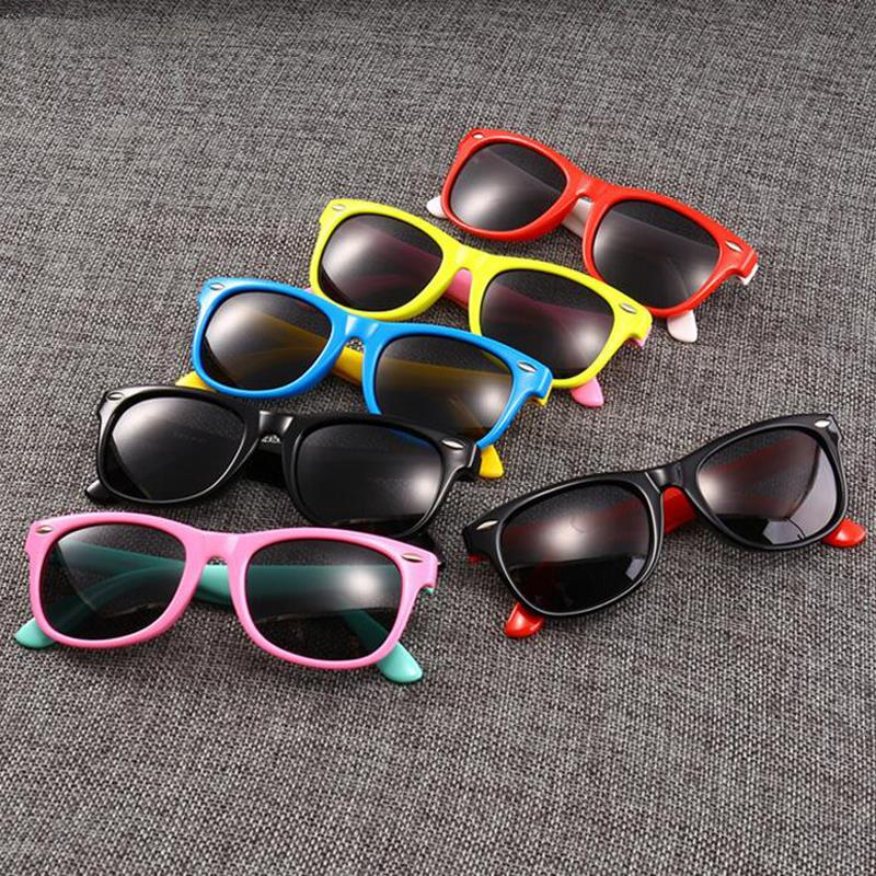 LongKeeper New Polarized Kids Sunglasses Boys Girls Baby Infant Fashion Sun Glasses Eyewear Children Shades Gafas Infantil UV400