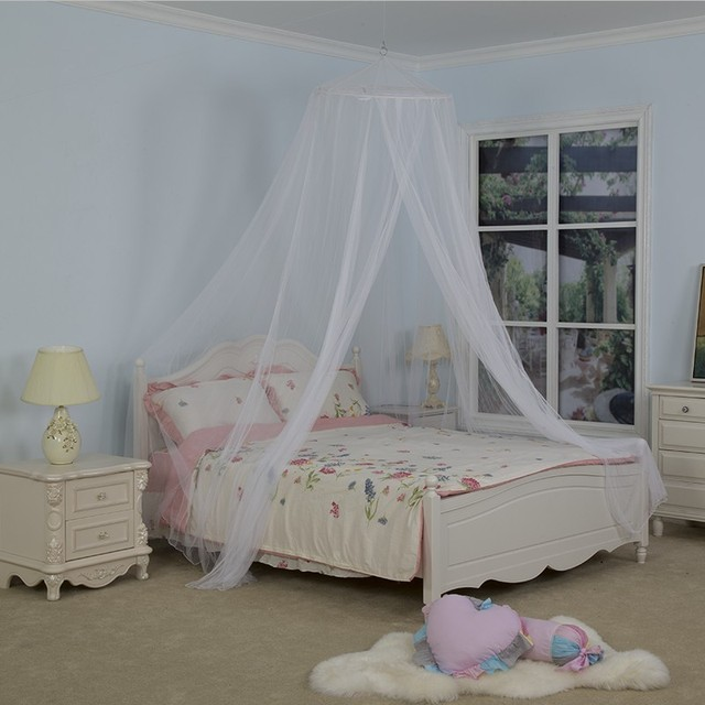 Round Dome Bed Canopy Bedcover Mosquito Net Bug Netting Kid Bedding Canapy Prince Boy Girl Children & Round Dome Bed Canopy Bedcover Mosquito Net Bug Netting Kid ...