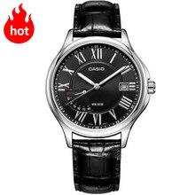 CASIO Часы Указатель серии Модная Повседневная Деловая водонепроницаемый мужские часы MTP-E116L-1A MTP-E116L-7A MTP-E116D-7A MTP-E116D-1A