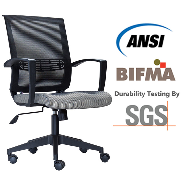 Modern Ergonomic Mesh Task Office Chair With Lumbar Support Swivel Base Height Adjule Seat Mid Back