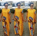 2017 Халат Africaine Африканских Платья Африканская Одежда Традиционный Женщины Новое Прибытие Срок годности Хлопок Спандекс Одежда