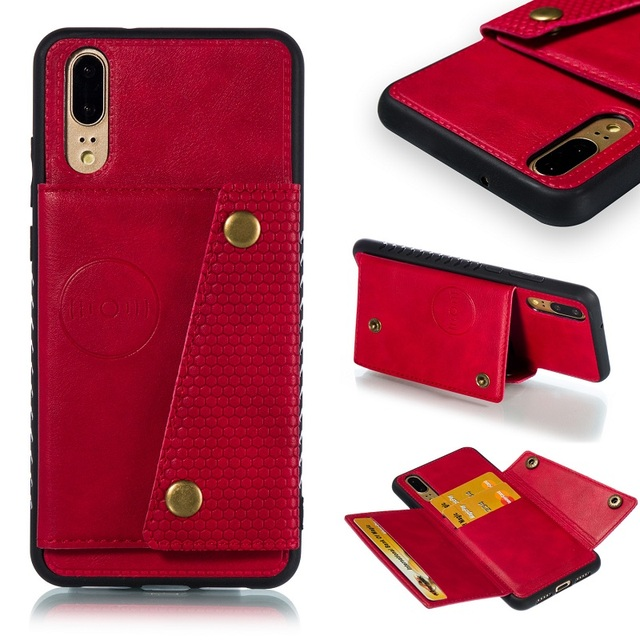 Luxury Originality Case For Huawei P20 Cases Card Leather Sheath Soft PU Case For Huawei P20 LITE Protective back Cover