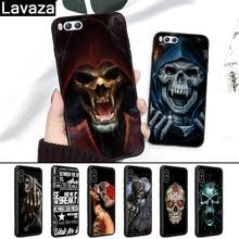 Lavaza Grim Reaper Skull Skeleton Coque Silicone Case for Xiaomi MI 6 8 9 SE Max 3 Lite F1 A1 A2 5X 6X Mix 2S A3 Pro 9T CC9 CC9E