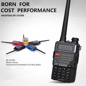 Image 3 - Baofeng UV 5RE Plus Battery 5W Walkie Talkie Dual Band Uhf Vhf 136 174MHz & UHF 400 520MHz UV 5RE Two Way Radio Baofeng UV 5R