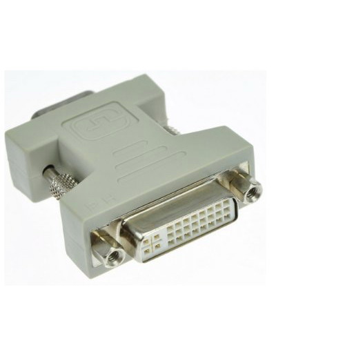 DVI 24+5 Female To HD15 VGA Male Video Adapter #DY204 dvi 24 5 male to component video female adapter