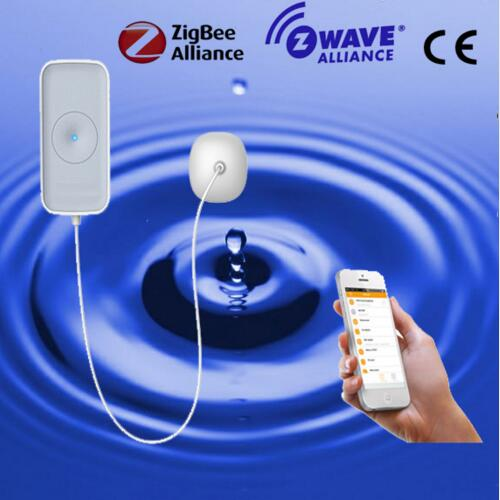 Heiman Zigbee Wireless Water Leakage Sensor Flood Leakage Detector Alarm Working With Heiman Gateway