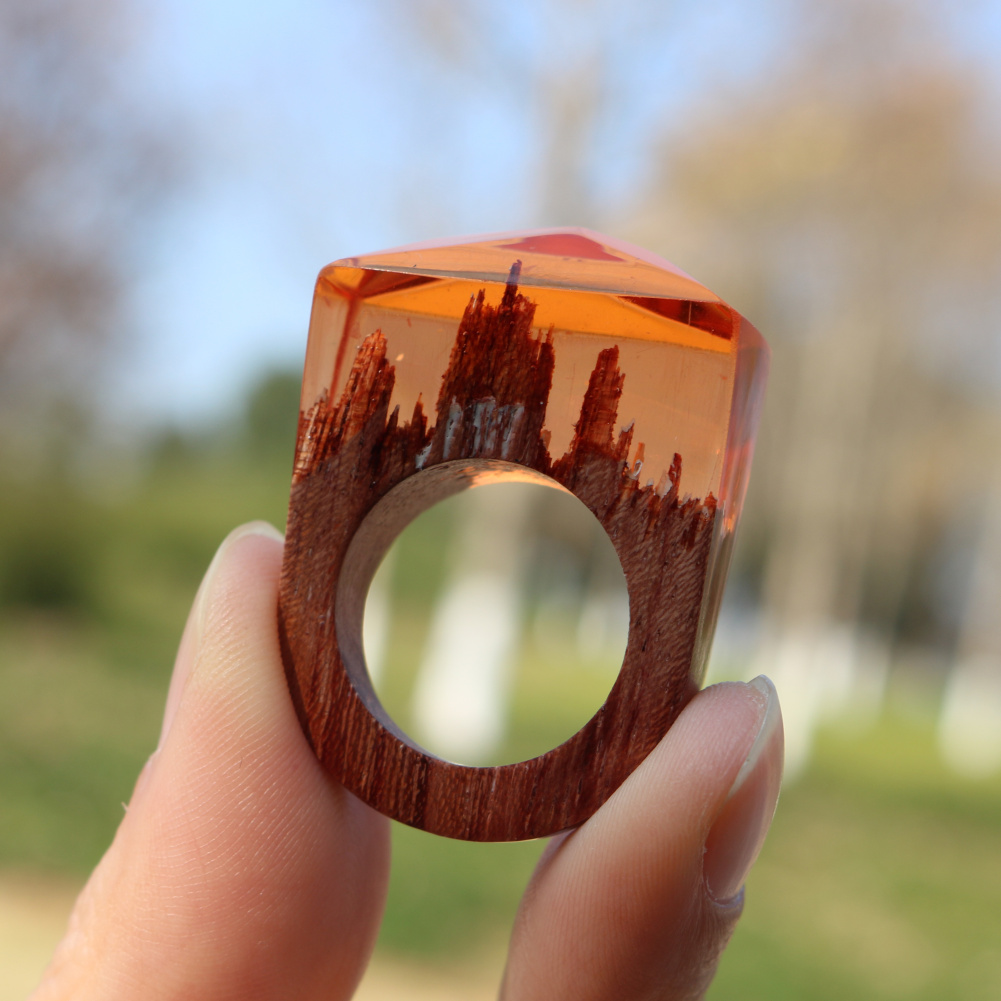 wood of image product hidden tiny worlds forest wooden higher rings within mystery secret by