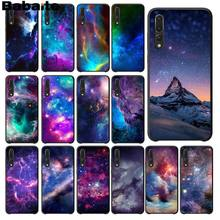Babaite Fantasy Nebula Space Stars Universe Soft black Phone Case for Huawei P9 P10 Plus Mate9 10 Mate10 Lite P20 Pro Honor10(China)