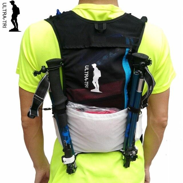 ULTRA TRI Trail koşu sırt çantası açık hafif hidrasyon spor çantası bisiklet yürüyüş maraton yarış eğitim paketi Mochilas