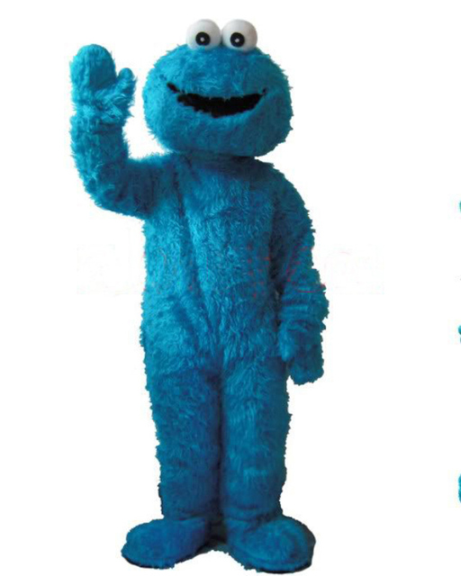 Pro Halloween Suits Sesame Street Cookie Monster Outfit Mascot Costume Adult Size Fancy Dress  sc 1 st  AliExpress.com & Pro Halloween Suits Sesame Street Cookie Monster Outfit Mascot ...