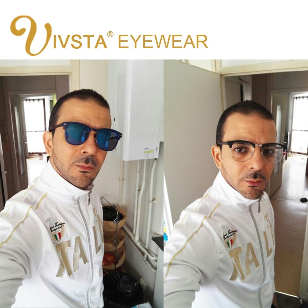 IVSTA 5 Clip On Solglasögon Män Polariserad Magnet Solglasögon - Kläder tillbehör - Foto 2