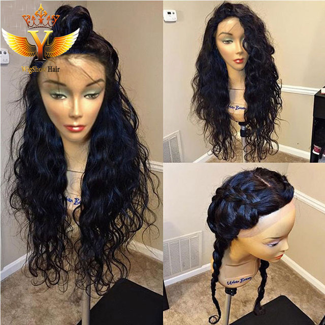 Custom Made Human Hair Wigs For Black Women Braided Lace Front