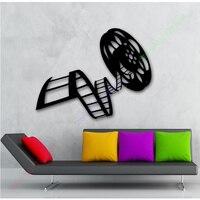 Movie Film Vinyl Wall Decal Reel Of Film Cinema Film Decor For Living Room Mural Art Wall Sticker Film Studio Bedroom Decoration