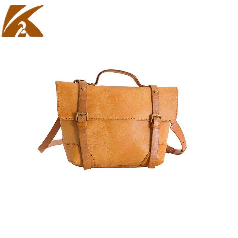 KVKY Мода 2018 г. пояса из натуральной кожи сумки через плечо для женщин коровьей кожаные сумочки Сумка курьерские сумки Bolsa Feminina