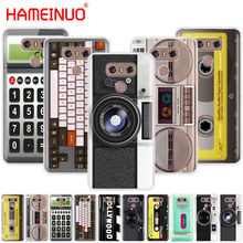 Camera Cassette Boombox Calculator Keyboard case phone cover for LG G7 Q6 G6 MINI G5 K10 K4 K8 2017 2016 X POWER 2 V20 V30 2018(China)