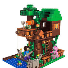 406pcs Tree House Compatibie Legoings Building Blocks Toy Kit DIY Educational Children Christmas Birthday Gifts(China)