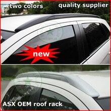 Багажник на крышу Rail/крыша бар для Mitsubishi ASX или RVR, оригинальная модель, исправить с помощью винтов вместо клея, алюминиевый сплав, 2011-2016