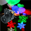 4 W Mini LED Stage Luz Do Projetor com a Inserção do Cartão Bonito do Teste Padrão Do Coração Aranha Festa de natal Do Floco De Neve luz