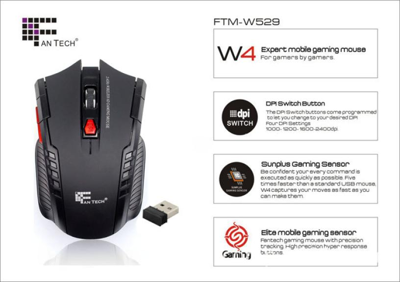 Best Price Portable 2.4Ghz Wireless Optical Gaming Mouse Gamer Mice For PC Laptop Pro Gamer