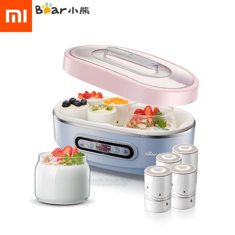 Xiaomi Mijia Smart Automatic Thermostatic Heating Yogurt Machine Glass Ceramic Cup Yogurt Kimchi Rice Wine Maker