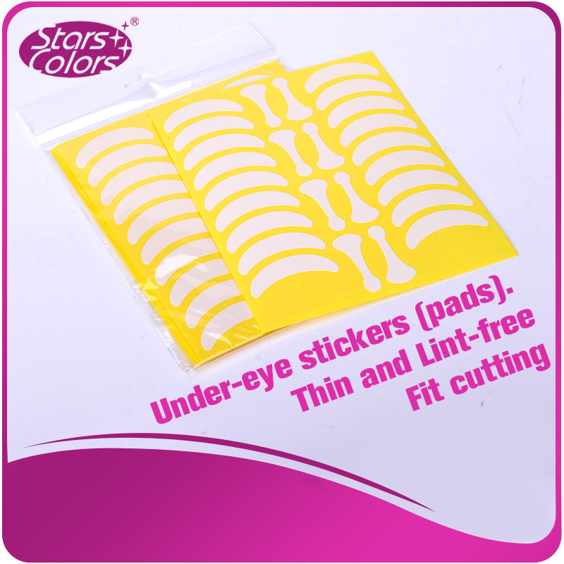 700 pairs Under Eye Pads Eyelash Exercises Eye stickers Paper Lint free with shape bone eye