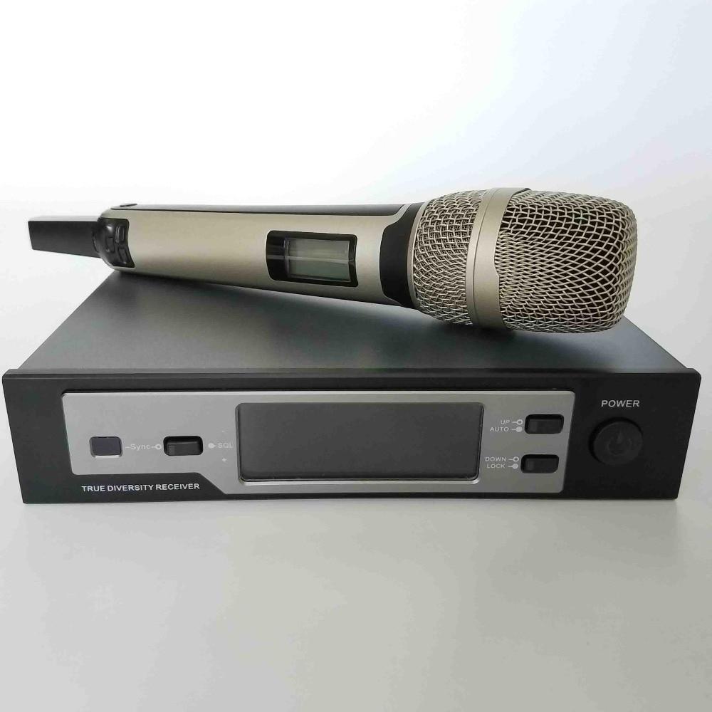 lnksound SKM U9100 digital wireless microphone True diversity full headset mic + handheld mic + lapela mic mikrofon microfono