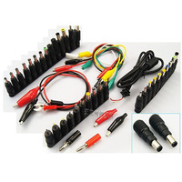 48 in 1 universal laptop AC DC jack power supply adapter connector plug for HP IBM Dell Apple etc notebook cable