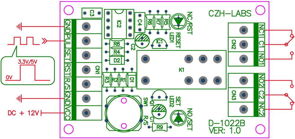 D-1022B_pulse signal indicate