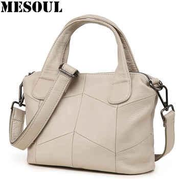 Small Women Messenger Bag 2018 Casual Real Leather Handbag Shoulder Bag Female Crossbody Bags Bolsos Mujer Bolsas Feminina sac - DISCOUNT ITEM  50% OFF All Category