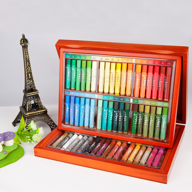 Truecolor Stationery gift set water soluble 72 color oil painting stick non-toxic painting crayons children graffiti pen iarts aha072962 hand painted thick texture of knife painting trees oil painting red 60 x 40cm