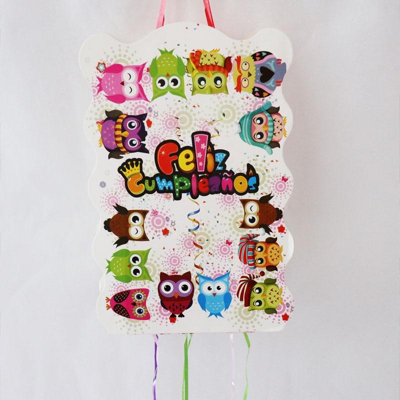 Prime 1Set Lot Birthday Folding Pinata Baby Shower Party Game Decoration Funny Birthday Cards Online Alyptdamsfinfo