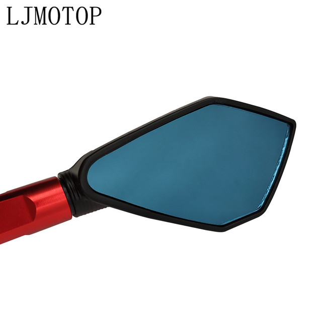 Motorcycle Rear view Mirrors Automobiles & Motorcycles color: Black|Blue|Gold|Red|Silver