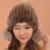 Venta caliente sombreros de invierno para las mujeres 2016 de punto de visón sombreros casquillo hembra ocasional
