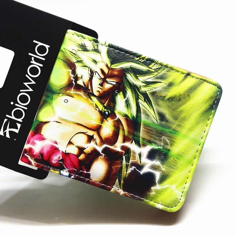 Cartoon wallet / Dragon Ball Z / One Piece / Naruto / Fairy Tail / Death Note / multi-style short wallet men and women wallet