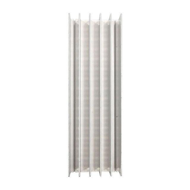 2PCS 120x40x20mm Aluminum Cooling Board Heatsink for COB LED Light Lamp Lighting Radiator 120*40mm Heatsink