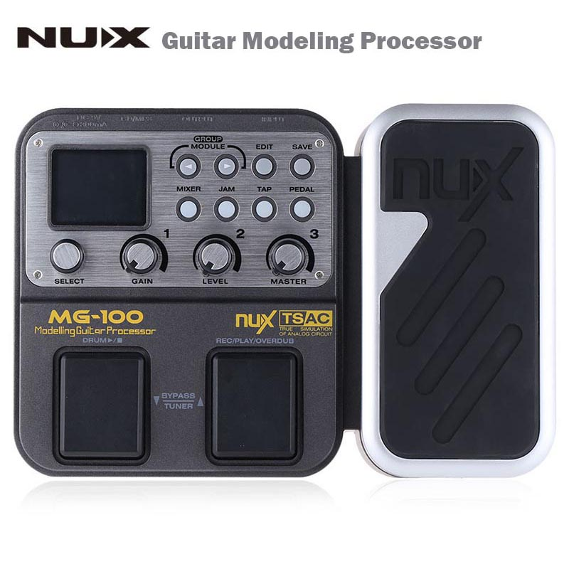 NUX MG 100 Guitar Modeling Processor