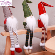 FENGRISE Santa Claus Doll Merry Christmas Gifts 2018 Ornament Decor for Home New Year 2019 Xmas